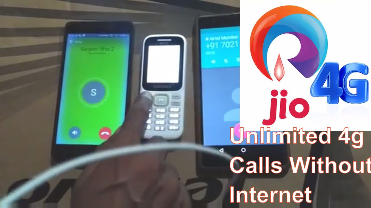 Reliance Jio Call Hack - Call Without 4G Volte Unlimited