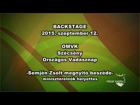 Országos Vadásznap Szécsényben – 2015.09.12. - Dr. Semjén Zsolt beszéde