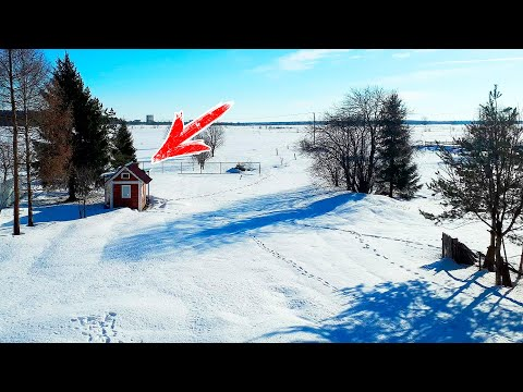 Видео: Все Соседи Смеялись над Маленьким Домом Семьи из 3 человек! Пока не узнали Для Кого его Построили!