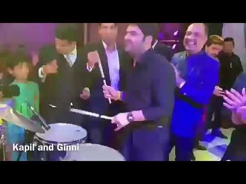 Kapil Sharma play The Drum at his Own Wedding