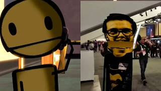 (Meatly's Adventure Pt5) Bendy CH4 Demo at the GDC #CGXBash (Meatly Adventures: fan made)