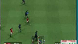 PSP Gameplay Pro Evolution Soccer 2009-pes 09  psp