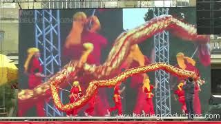 Cinska bojova umeni / Exhibice cinskeho tance draka