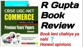 R gupta previous year book Review