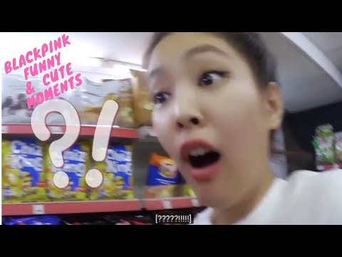 [Eng Sub] BLACKPINK Funny And Cute Moments 2019 Compilation\BLACKPINK  Try Not To Laugh Challenge
