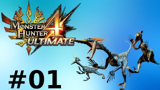 Monster Hunter 4 Ultimate Multiplayer -- Part 1: Mount Up!