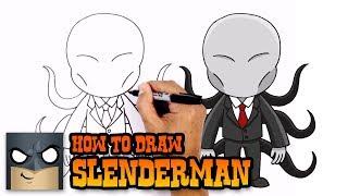 chibi slenderman drawing lesson