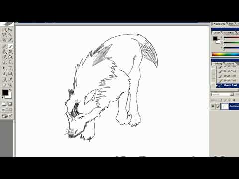 drawing with a wacom tablet youtube. Black Bedroom Furniture Sets. Home Design Ideas
