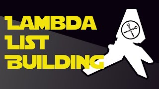 Gambar cover How to Build an X-Wing List with the Lambda-Class Shuttle