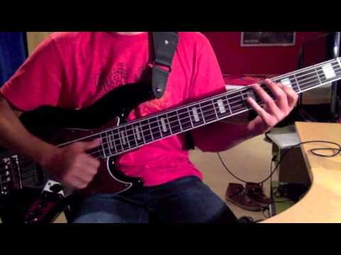 Simple Minds - Hunter And The Hunted (Bass Cover)