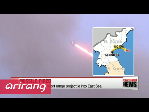 N. Korea fires short range missile and continues jamming GPS: Defense Ministry