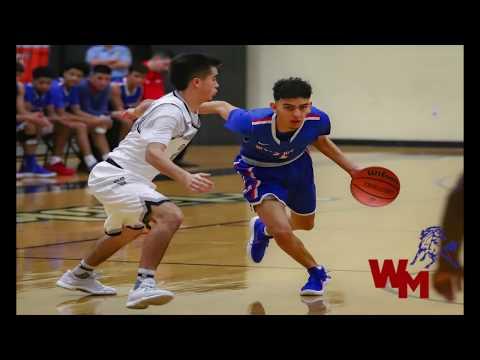 Jose Vigil - West Mesa High School - Albuquerque, NM - 6A Basketball Highlights