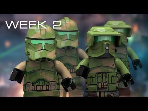 Building Kashyyyk in LEGO - Week 2: Prototyping