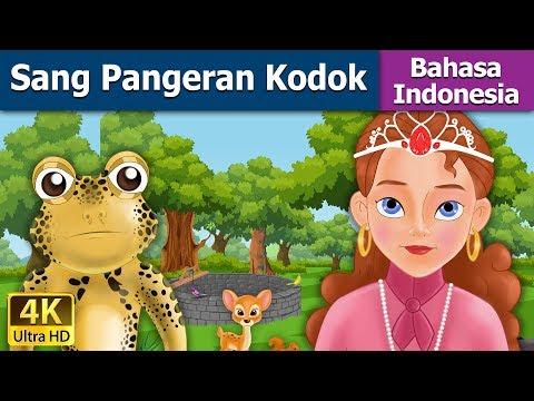 Sang Pangeran Kodok - dongeng anak indonesia kartun - cerita anak  - 4K - Indonesian Fairy Tales