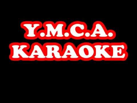 VILLAGE PEOPLE ymca karaoke playback backing track