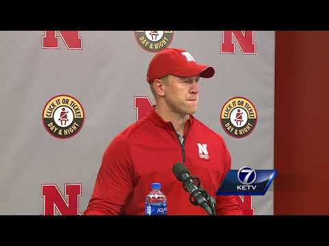 Coach Scott Frost holds pre-spring press conference