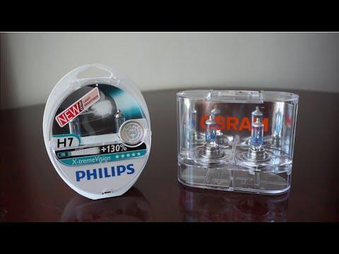 Philips X-tremeVision +130% (3700k) vs OSRAM Night Breaker Unlimited (3600k)