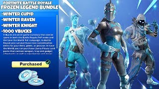 New FROZEN LEGENDS Skins Bundle in Fortnite..