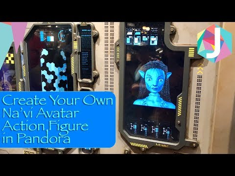 Create Your Own Na'vi Avatar Action Figure In Pandora