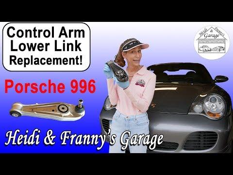 Does your Porsche Creak? (996/986 Control Arm Replacement) DIY!