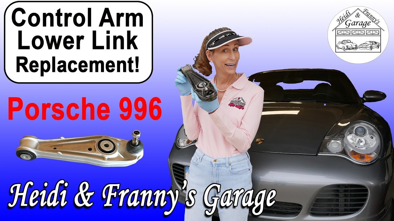 hight resolution of does your porsche creak 996 986 control arm replacement diy