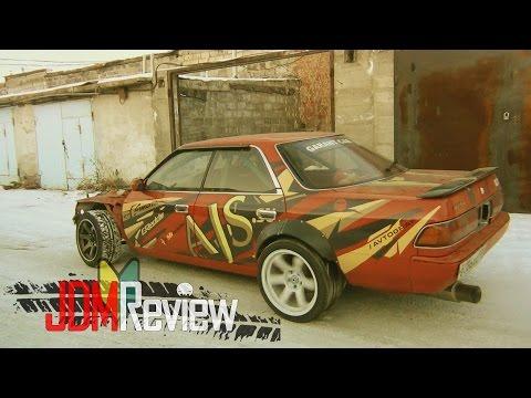 🔰 JDM Review | Toyota Mark 2 jzx81 1JZ-GTE R154 | ВАЗ 2105