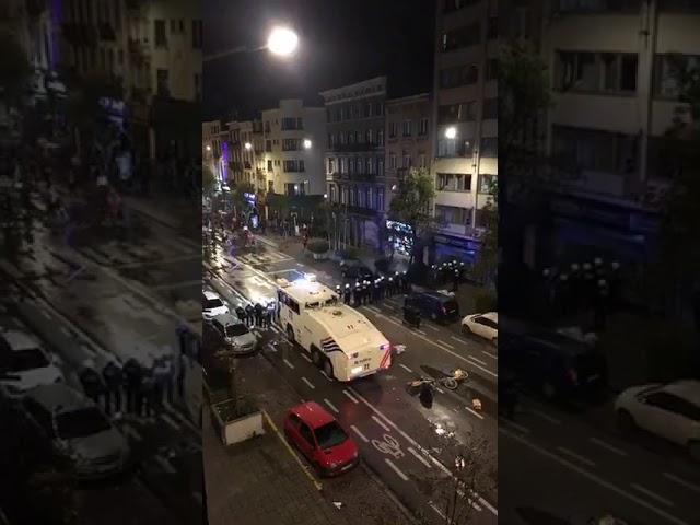 Émeutes à Bruxelles après Maroc - Côte d'Ivoire