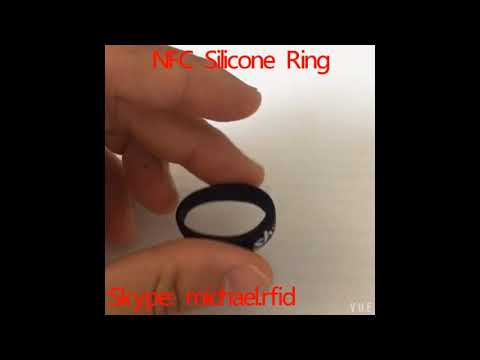 NFC Silicone Ring