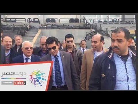 وزير الرياضة من بورسعيد: لن يُلغى الدورى  - 22:54-2019 / 2 / 16