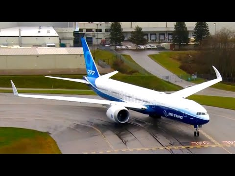 First flight of Boeing's 777X foldable-wing aircraft (full recap)