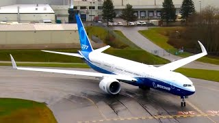 First flight of Boeing