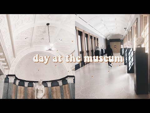 day at the museum // getty villa