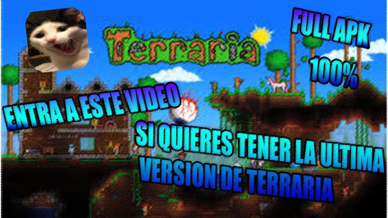 Como Descargar Terraria Ultima Version 2016 (6-7-2016