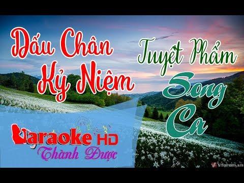 Dấu Chân Kỷ Niệm ( Beat Song Ca Hay ) Karaoke  By Thành Được