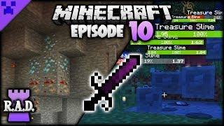 DIAMONDS, Upgrades & EPIC Sword | Roguelike, Adventures & Dungeons Mod Pack (Minecraft Survival) #10