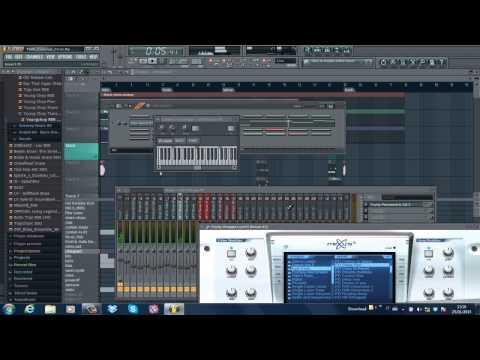 2 Chainz / Chief Keef / Juicy J type Beat Breakdown in FLStudio 10