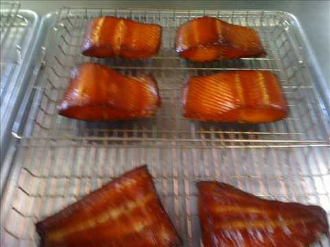 Smoking Process For Salmon And Black Cod