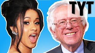 Bernie Sanders Cardi B Is Right