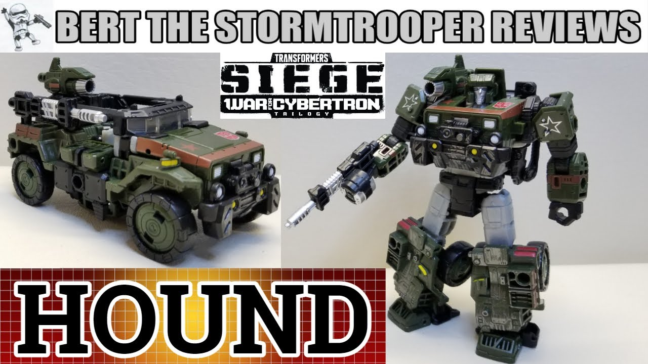 War for Cybertron SIEGE, Autobot HOUND Review by Bert the Stormtrooper!