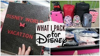 DISNEY PACKING for FAMILY OF FIVE | VLOG | ORGANIZATION TIPS | KIDS CLOTHES & WHERE I BOUGHT THEM