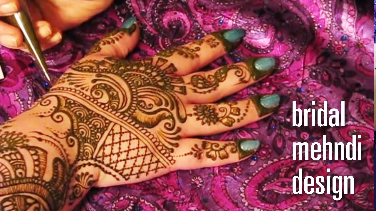Mehndi Henna Design Free Indian Henna Tattoo Demo From Shangar Ii
