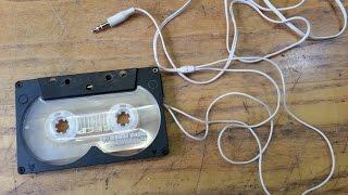 кассета адаптер (кассета AUX) своими руками
