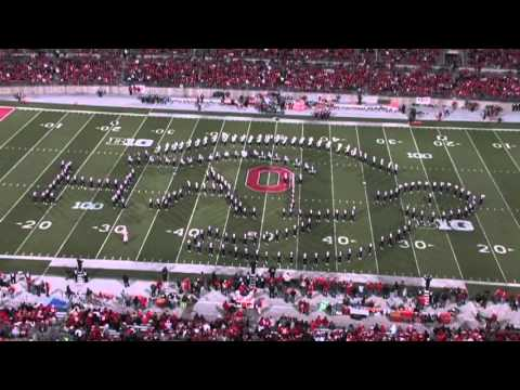 OFFICIAL OSU Marching Band video game half time show