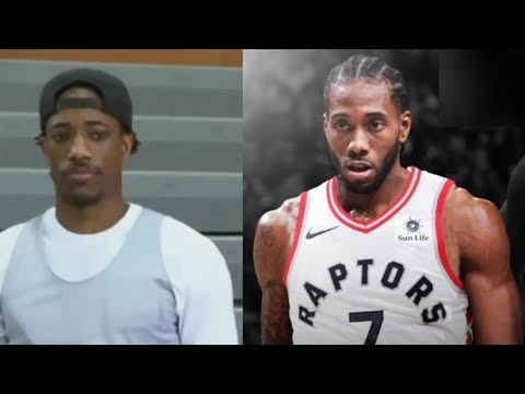 DeMar Derozan Reacts To Being Traded To Spurs For Kawhi Leonard: Aint No Loyalty In This Game