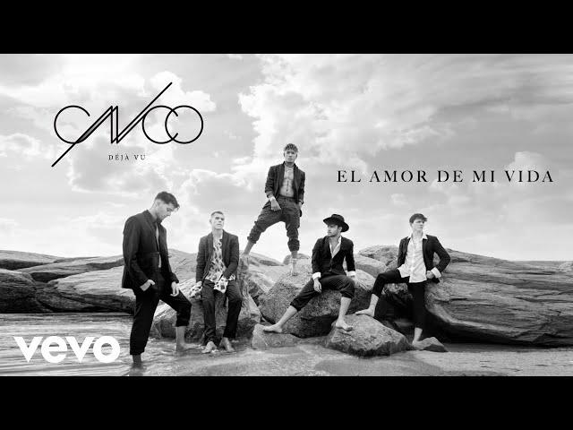 CNCO - El Amor de Mi Vida (Audio)