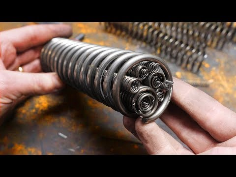 Forging A Knife From Springs!  Part 2