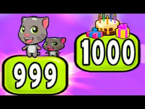 Видео: Говорящий ТОМ много новых зелий прокачаем котика мультик для детей УШАСТИК KIDS