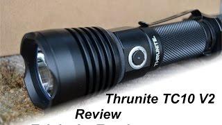 ThruNite TC10 V2 - Taschenlampe mit USB Schnittstelle zum Akku aufladen | Outdoor AusrüstungTV