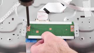 """Philips 55"""" LED TV Repair 55PFL5601F7 - How to Replace All Boards for TV Repair"""