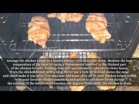 How To Smoke Chicken Breast In An Electric Smoker